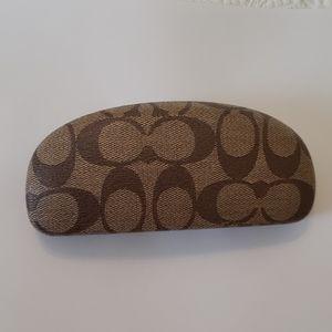 Coach Accessories - Coach signature hard clamshell sunglasses case